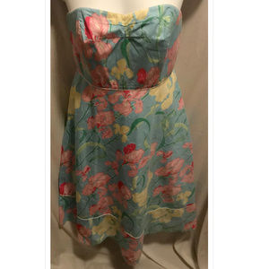 Size 12 Lilly Pulitzer Dress Strapless